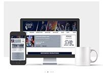 UI/UX/ Web Designs for Rockwood Theatre