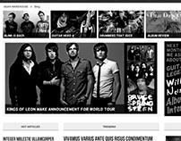 Musical Instrument Website
