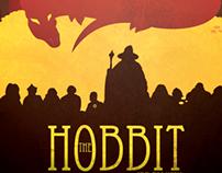 """The Hobbit"" Novel Cover Concept Art"