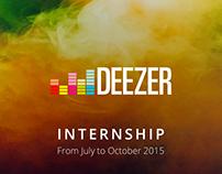 Deezer - Internship 2015