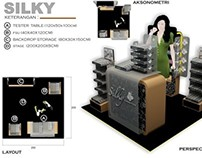 Silky promo booth