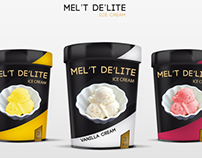 Ice cream Mel't Packaging
