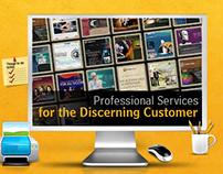 Website design for Freelancer