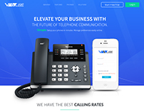 VoIPBusiness.com Landing Page