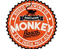 Bosco Brewing Co. Beer Branding