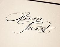 Oliver Twist - Part 3 - Book design