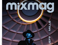 MixMag Cover Story with Jeff Mills