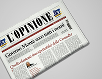 Restyling grafico l'Opinione delle Libertà (2012)