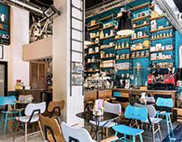 Blossom Owl Coffee Shop
