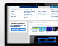 Samsung Training Portal & App