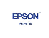 EPSON #SayNoToTV