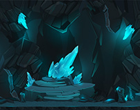 Cave Backgrounds Design