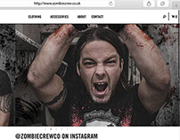 Zombie Crew E-commerce Design and Implementation