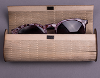Sunglasses wood case