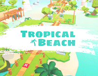 Tropical Beach - iOS & Android Mobile Game