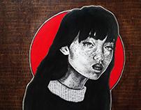 Saura- Original Illustration with Progression