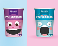 Pamuk Şeker Paket Tasarımı - Cotton Candy Package