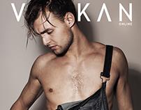"""Morning Stretch"" editorial for Vulkan magazine"
