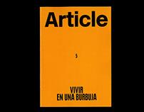 Article 5. Vivir en un burbuja