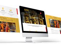 Ayiliamkaavu Naagaraja WebSite UI