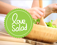 The love salad. Proyecto de grupo creativo. Maqueta.