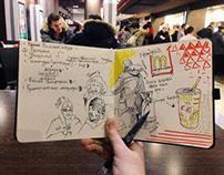 Sketchbook. Part 1