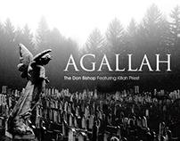 Agallah - Elders Gave Us Aura: Single Cover Design