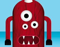 Libro Objeto Monsters