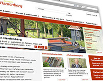 Gemeente Hardenberg website