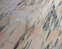 Pink Marble by AMC