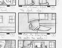 Last Night A Killer Saved My Life Storyboard