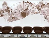 """""""Mori Wall"""" Cassa Rurale Alto Garda"""