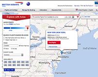 BA / Avios Site Re design