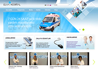 Elva Hospital website