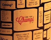 Champi Hair Oil  - For the young party goer.
