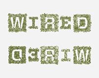 WIRED Magazine UK, Illustrated Growing Logos