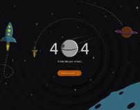Eror 404 for Website