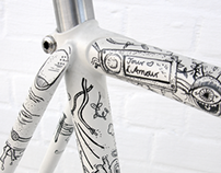 Illustrated Bike - Eisenherz