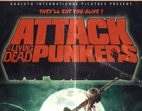Poster Artwork : Attack of the living Dead Punkers