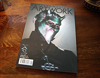 Heavy Music Artwork - Issue 1 Dark Nouveau