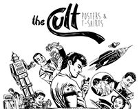 The Cult - Posters & T-shirts