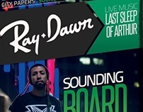 Ray Dawn - Flyer Design