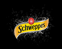 Schweppes Bubbles explosion