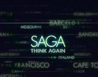 TV ad with Typography