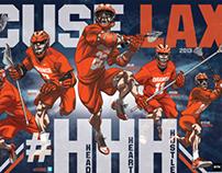 Syracuse Men's Lacrosse Poster