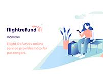 Flightrefund UI/UX design