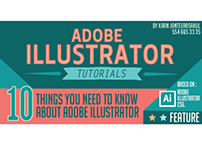 Adobe illustrator Tutorials Infographic