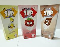 SIP - Flavoured milk packaging