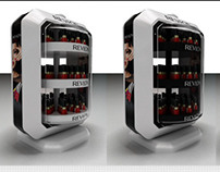 REVLON-Nail product exhibition