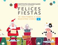 VIDEO: Saludo Navidad Instituto Chileno Suizo 2012